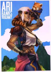 Commission - Ari Banks by MonoriRogue