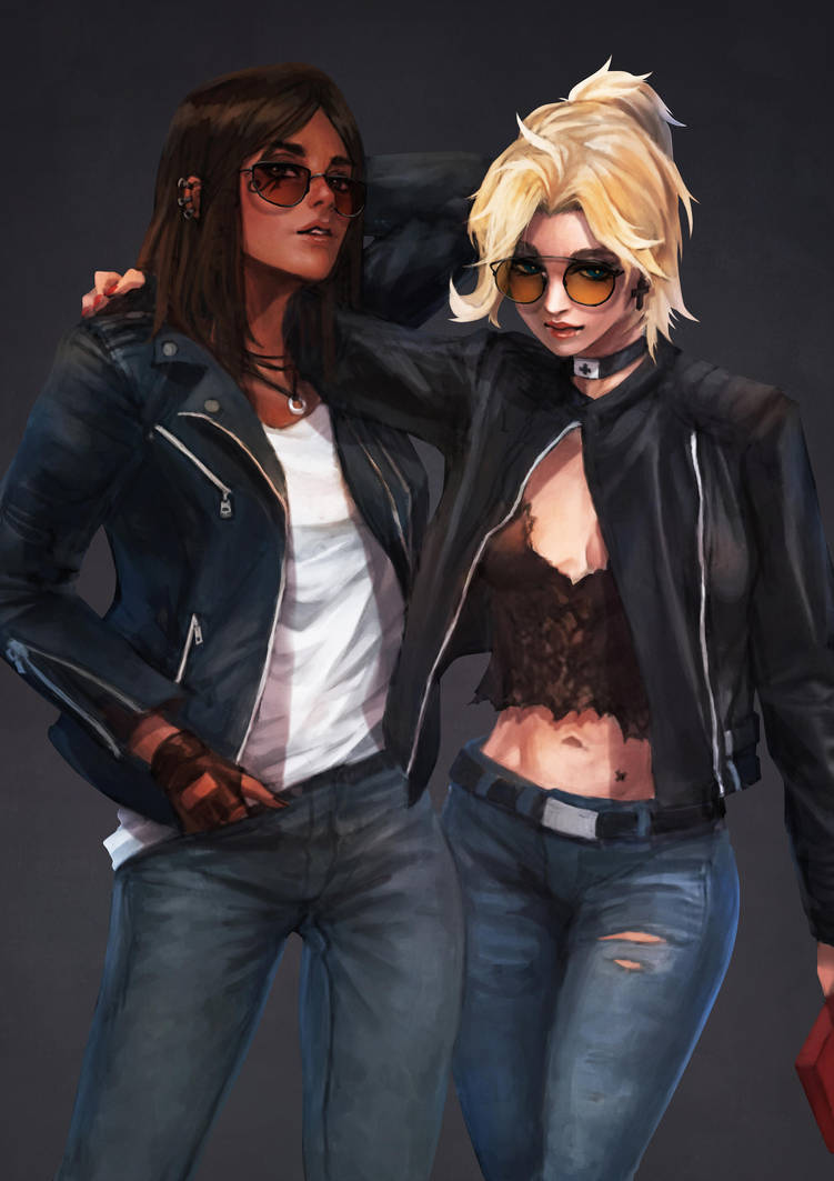 Casual PharMercy by MonoriRogue