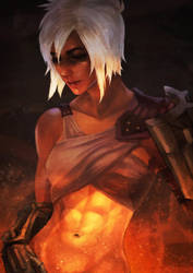 Riven Doodle by MonoriRogue