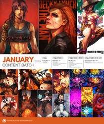 Patreon January 2019 Content Preview by MonoriRogue