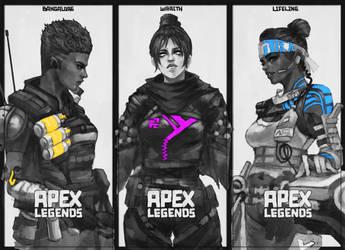 Apex Legends Doodle by MonoriRogue