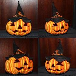 halloween pumpkin lantern by elideli