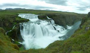 Reykjafoss by spartout