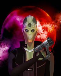MassEffect2 Thane by Dakerman