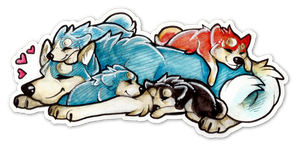 Nap time by DaimonKitty