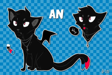 An (cat version) Reference by DaimonKitty
