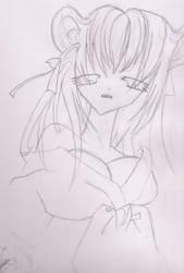 Demon flower goddess by syung