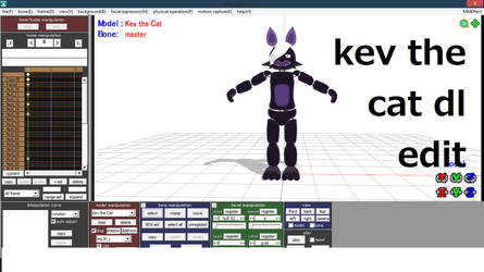 mmd kev the cat the new edit model dl by Veep-X-2231
