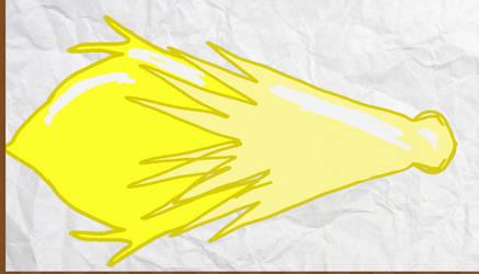 Gem Baseball Bat  for steven oc  light topaz by Veep-X-2231