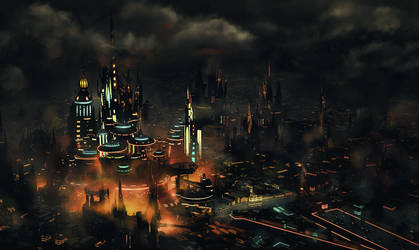 The Lost City by x-posion