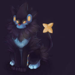 No. 405 Luxray by That-Stupid-Dingo