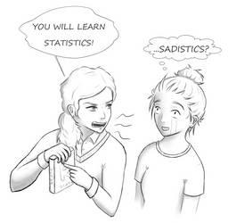 Sadistics?! by Nisaea