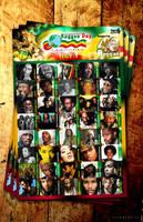 IRD Reggae 40 Poster by innografiks