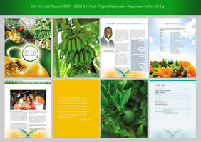 JAS Annual Report 2007 - 2008 by innografiks