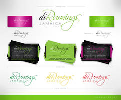 diRunnings Jamaica logo etc. by innografiks
