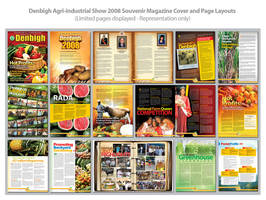 Denbigh Magazine Page Layouts by innografiks