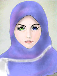 Yuna in veil by MainMagiq