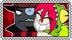 Black Hat X Demencia Stamp by craftHayley44