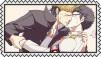 Mondo Oowada X Kiyotaka Ishimaru Stamp by craftHayley44