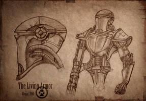 The Living Armor by Ulvgar