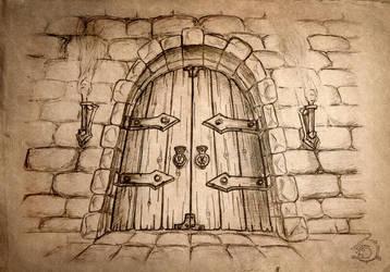 Locked Door by Ulvgar
