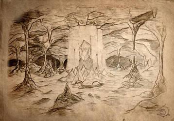 Mystic Cave by Ulvgar