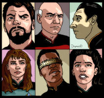 TNG Characters by Damon1984