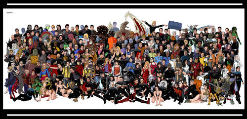 Band of Characters 2012 by Damon1984