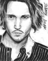 johnny depp portrait by o0Aria-chan0o