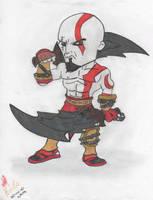 Kratoss The God Of War by kingtonix