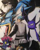Pokemon Team Galactic Cyrus by 1Finale95