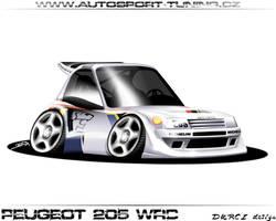Peugeot 205WRC by DURCI02