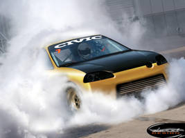 Honda CiviC dragster by DURCI02
