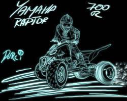 Yamaha Raptor 700R by DURCI02