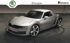 Skoda Coupe concept by DURCI02