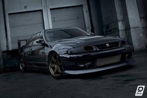 Nissan Skyline R33 drift spec by DURCI02