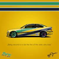 Senna BMW E36 by DURCI02