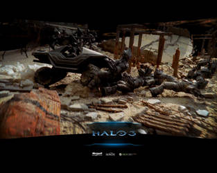 Halo 3 Believe Campaign by 1800Allen