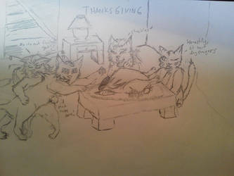 Happy Thanksgiving!! by Vexclaw