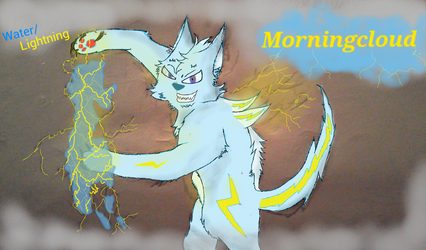 Morningcloud (Chaos warrior) by Vexclaw