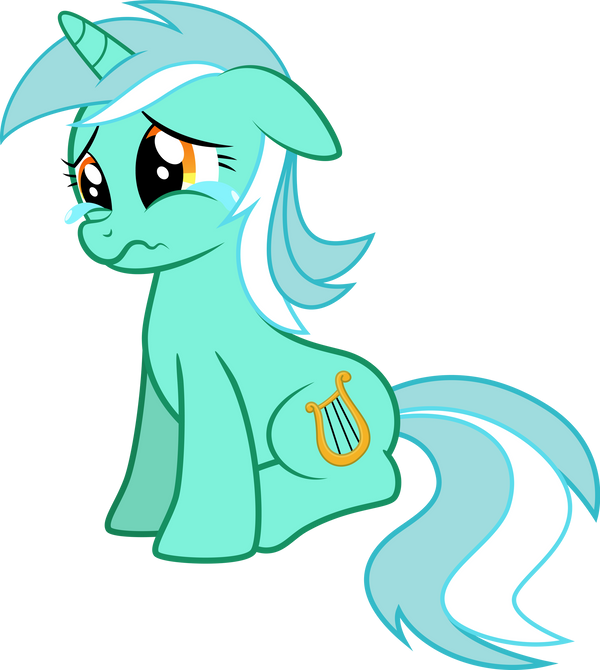 Sad Lyra vector by kyrospawn