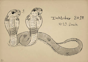 Inktober2018 - Double by Miocarre