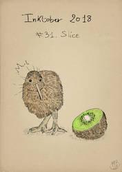Inktober2018 - Slice by Miocarre