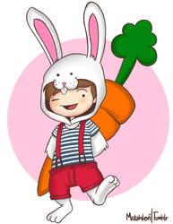 bunny wabbit by MistahLevi