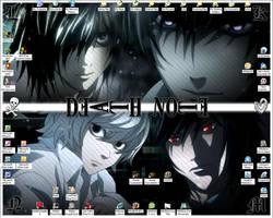 Death Note Wallpaper by xrach897