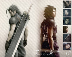 Zack Fair wallpaper by xrach897