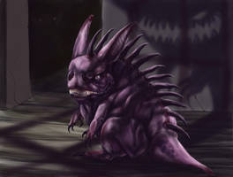 Realistic Gengar by Leashe