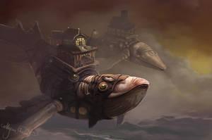 Whale Whale Whale by Leashe