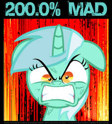 LYRA...200.0% MAD! by PONYMAAN