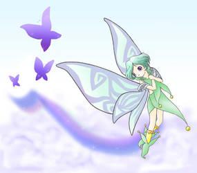 Flight of the Butterflies by ha-chan